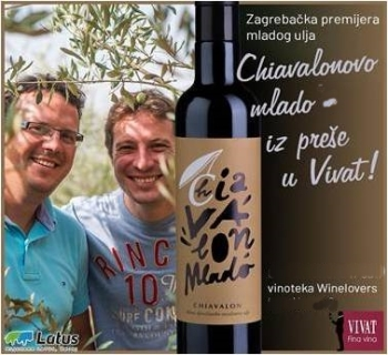 Chiavalon brothers olive oil Vivat +