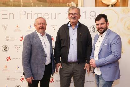 Ivica Kovačević, Vlado Krauthaker, David Štampar